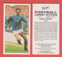 Glasgow Rangers Mark Hateley England